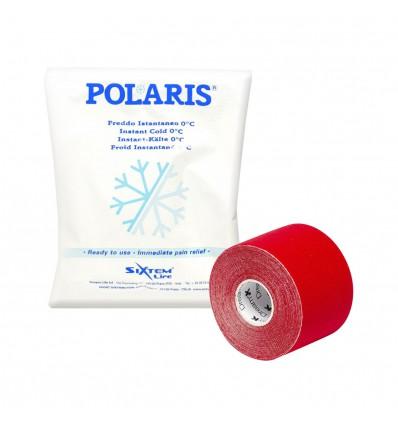 ZESTAW: Tejp elastyczny Dream K Kinesiology (różne kolory) + Polaris Ice Pack