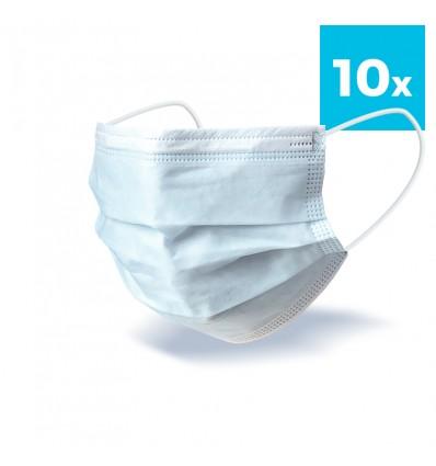 Maseczki Chirurgiczne Jednorazowe 10 szt
