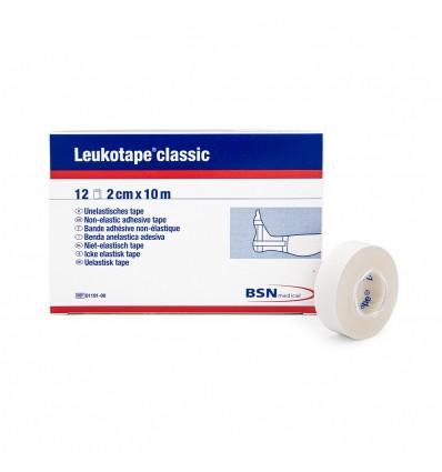 Sztywny tejp Leukotape® Classic 2 cm x 10 m / biały