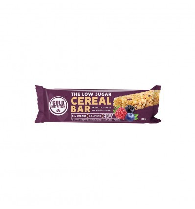 THE LOW SUGAR CEREAL BAR / owoce leśne