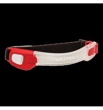 Opaska LED LightBender / czerwona
