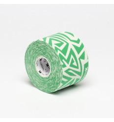 Dream K Tribe (biało - zielony) 5 cm x 5 m